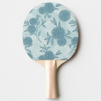 Retro Floral Pattern 2 2 Ping Pong Paddle