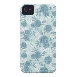 Retro Floral Pattern 2 Case-Mate iPhone 4 Case
