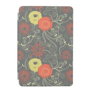 Retro floral pattern 2 iPad mini cover