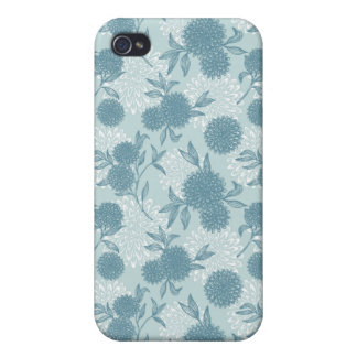 Retro Floral Pattern 2 iPhone 4/4S Cover