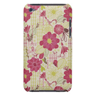 Retro Floral Pattern 3 Barely There iPod Case