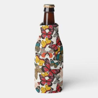 Retro floral pattern 3 bottle cooler