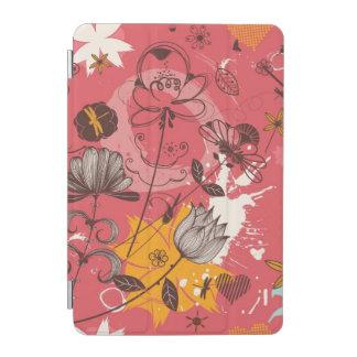 Retro floral pattern 3 iPad mini cover