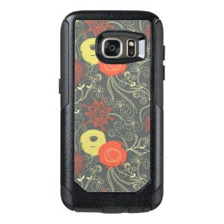 Retro floral pattern 3 OtterBox samsung galaxy s7 case