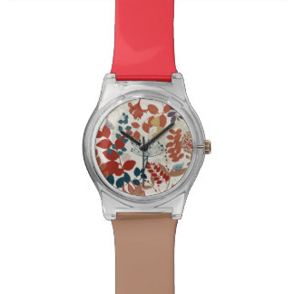Retro floral pattern 3 watch
