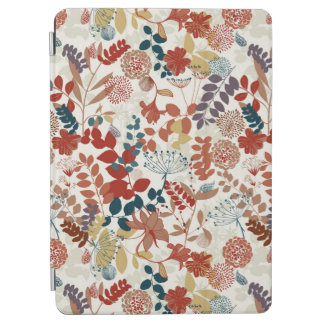 Retro floral pattern 4 iPad air cover
