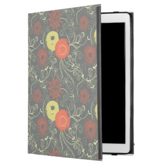 "Retro floral pattern 7 iPad pro 12.9"" case"