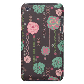 Retro floral pattern Case-Mate iPod touch case