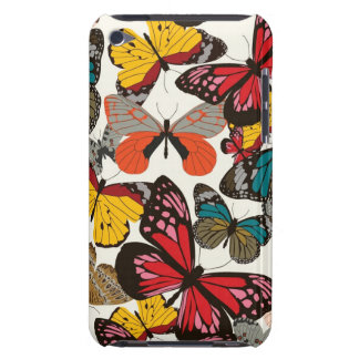 Retro floral pattern iPod touch cases