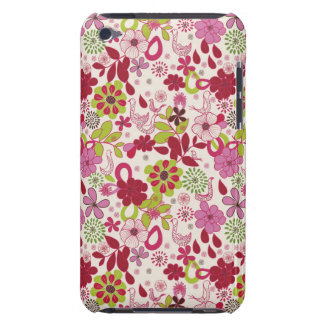 Retro floral pattern iPod touch covers