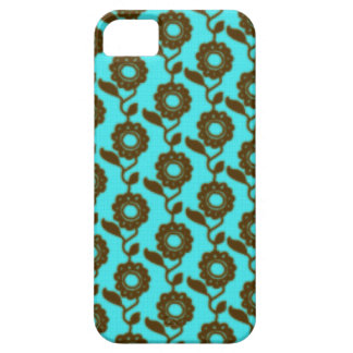 Retro floral pattern - mosaic iPhone 5 cases