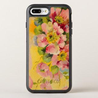 Retro Floral Pattern OtterBox Symmetry iPhone 8 Plus/7 Plus Case