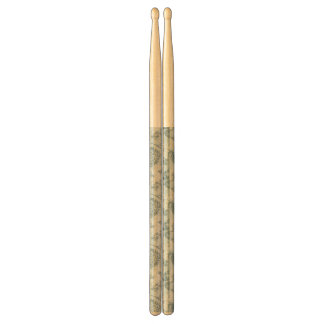 Retro floral pattern with viburnum flowers drumsticks
