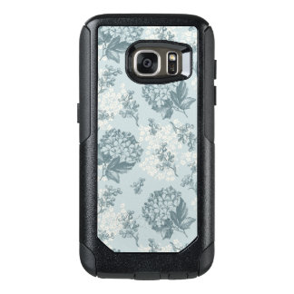 Retro floral pattern with viburnum flowers OtterBox samsung galaxy s7 case
