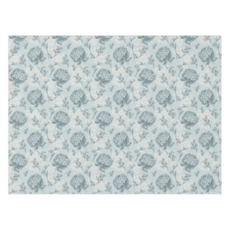 Retro floral pattern with viburnum flowers tablecloth