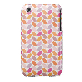 Retro Floral Patterned Case Case-Mate iPhone 3 Cases