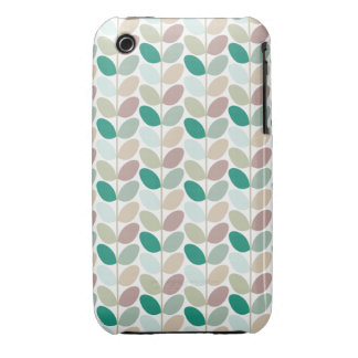 Retro Floral Patterned Case iPhone 3 Case