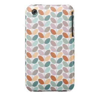 Retro Floral Patterned Case iPhone 3 Cases