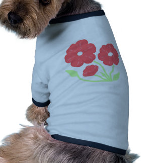 Retro Floral Pink Dog Clothes