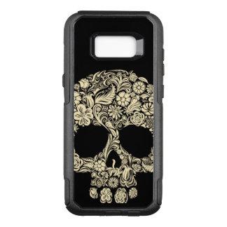 Retro Floral Sugar Skull Samsung Galaxy S8+ Case