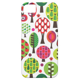 Retro flower apple butterfly pattern iphone case iPhone 5 cover