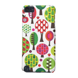 Retro flower apple butterfly pattern ipod case iPod touch 5G covers