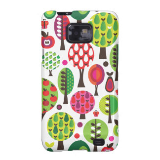 Retro flower apple butterfly pattern samsung case samsung galaxy s covers