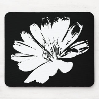 Retro Flower Art Mouse Pad