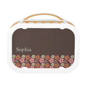 Retro Flower Background 057 Lunchboxes