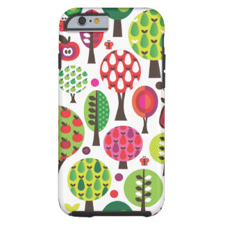 Retro flower butterfly pattern iPhone 6 case Tough iPhone 6 Case