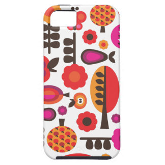 Retro flower butterfly pattern iphone case iPhone 5 covers