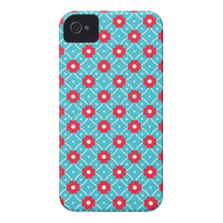 Retro Flower Pattern Case-Mate iPhone 4 Case