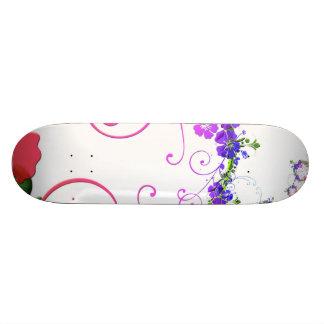 Retro Flower Skate Boards