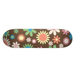 Retro Flower Skate Board Decks