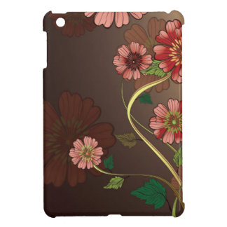 Retro Flowers and Chocolate iPad Mini Cover