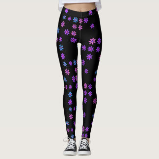 Retro Flowers Leggings