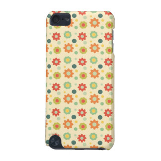 Retro flowers pattern iPod touch (5th generation) cases
