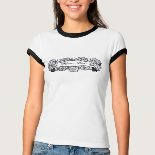 Retro Flowers T-Shirt