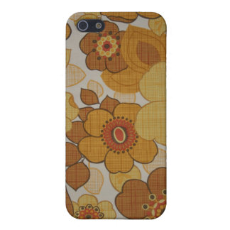 Retro Flowery iPhone 5/5S Cases