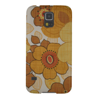 Retro Flowery Samsung Nexus S5 Case Case For Galaxy S5