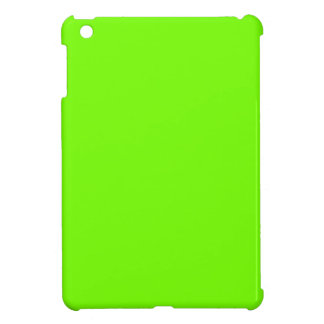 Retro Fluoro Lime-Green Collection Cover For The iPad Mini