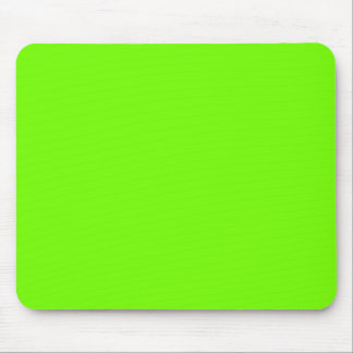 Retro Fluoro Lime-Green Collection Mouse Mat