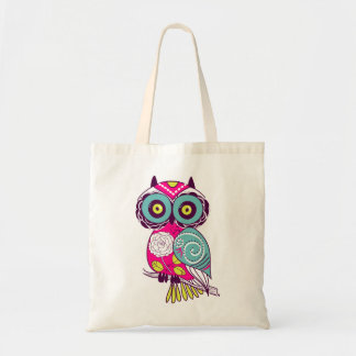 Retro Folk Art Owl