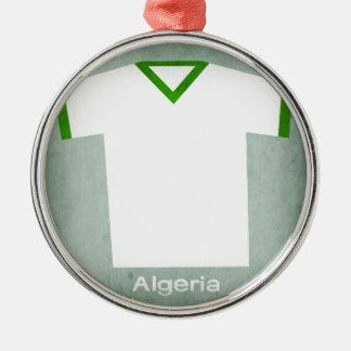Retro Football Jersey Algeria Christmas Ornament