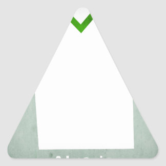 Retro Football Jersey Algeria Triangle Sticker
