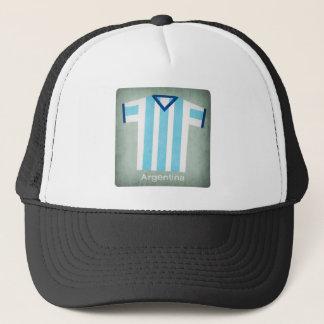 Retro Football Jersey Argentina Trucker Hat