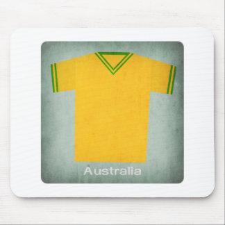 Retro Football Jersey Australia Mouse Mats