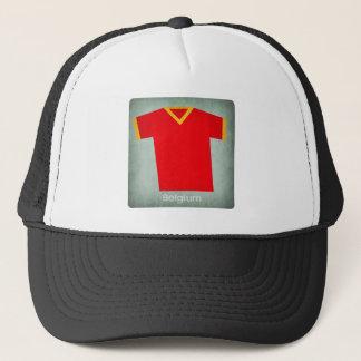 Retro Football Jersey Belgium Trucker Hat