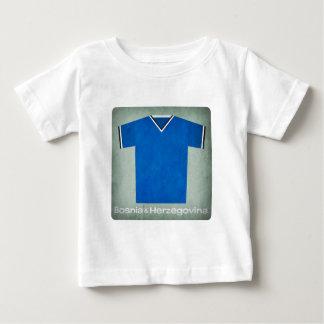 Retro Football Jersey Bosnia Herzegovina Baby T-Shirt