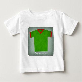 Retro Football Jersey Cameroon Baby T-Shirt